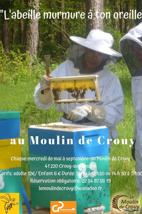 """""""L'abeille murmure à ton oreille"""" au Moulin de Crouy"""