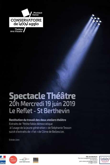 Spectacle Théâtre - Conservatoire de Laval Agglo