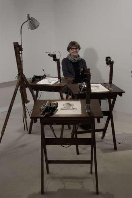 UMENÍ ROBOTA, l'exposition de Patrick Tresset