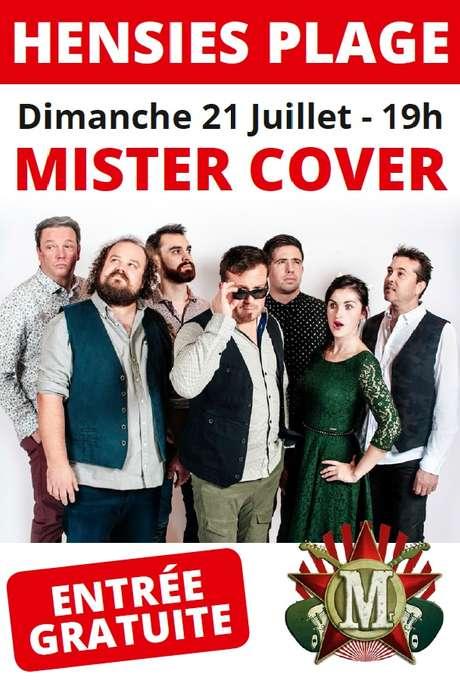 Mister Cover à Hensies Plage organisé par l'A.S.B.L. Symbiose