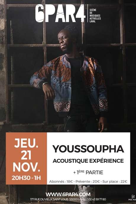 Youssoupha Acoustique expérience + 1ère partie #6par4