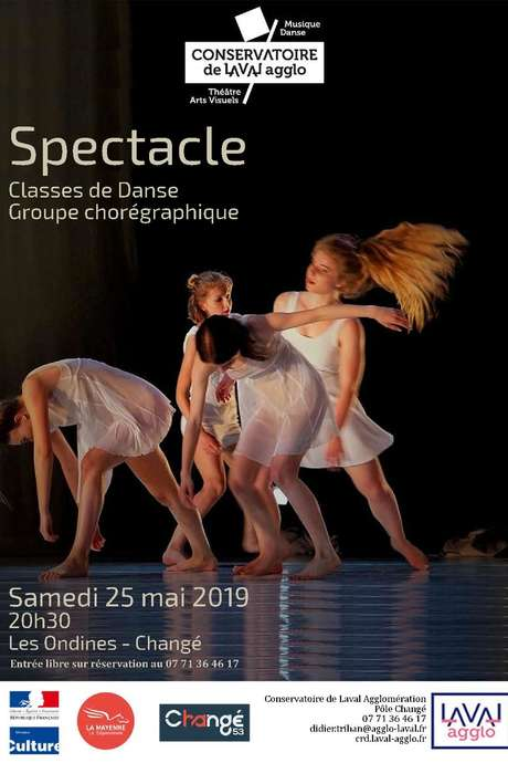 Spectacle // classes de danse