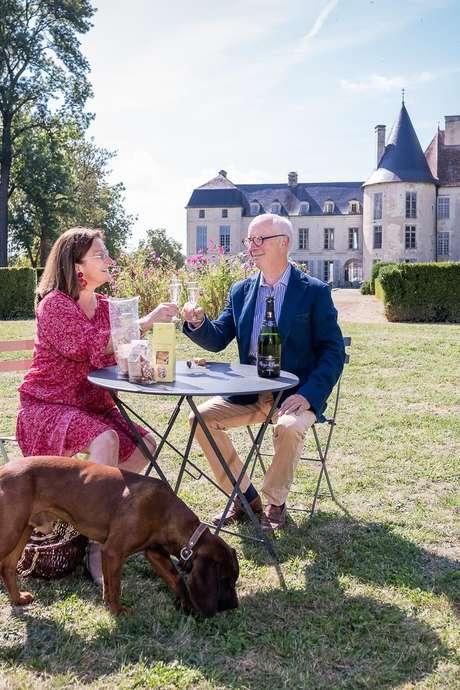 Garden Party au Château de Taisne, les Riceys en Champagne