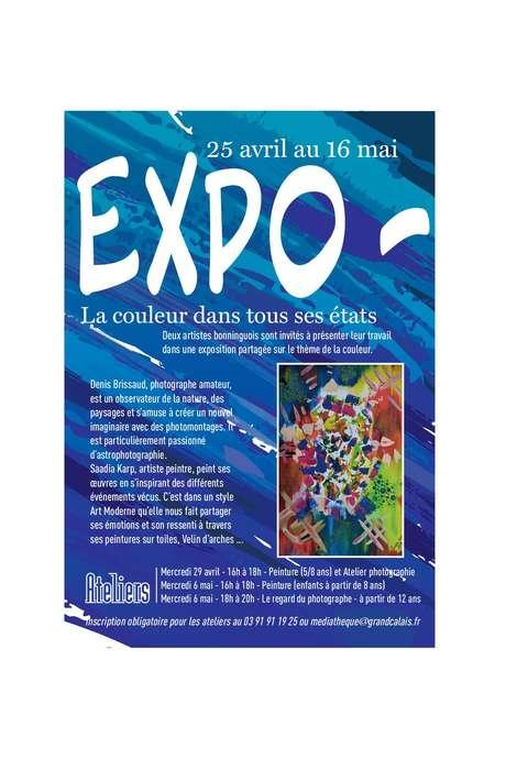 Expo la couleur dans tous ces états.