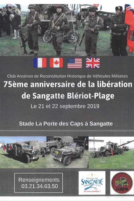 75ème anniversaire de la libération de Sangatte Blériot-Plage
