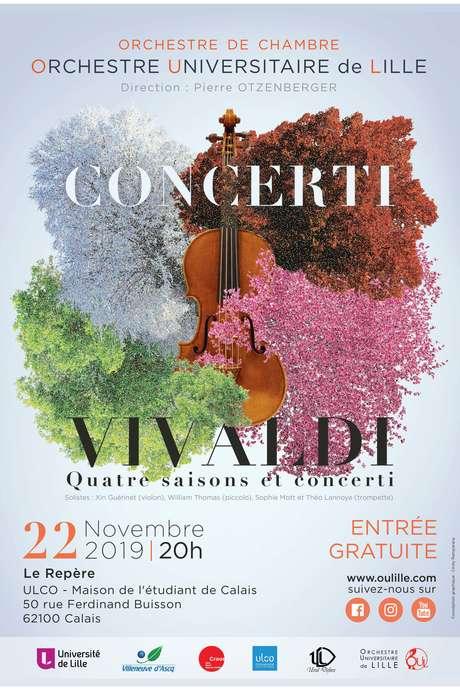 Concerti par l'Orchestre Universitaire de Lille