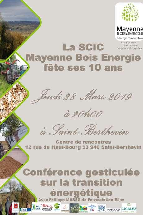 La SCIC Mayenne Bois Energie fête ses 10 ans