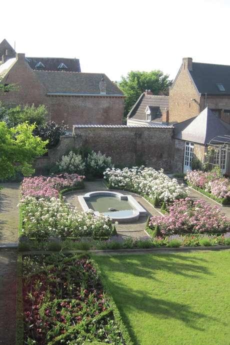 Journées du Patrimoine 2017: Visite d'un jardin à la Française (Mons)