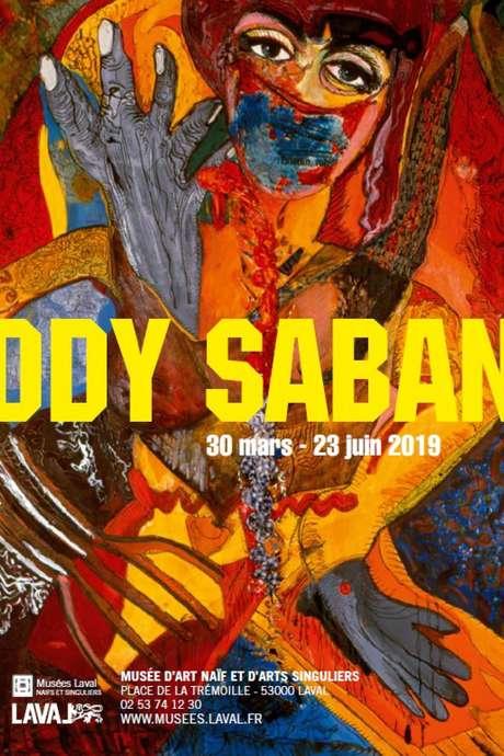 Visites commentées de l'exposition ODY SABAN au MANAS