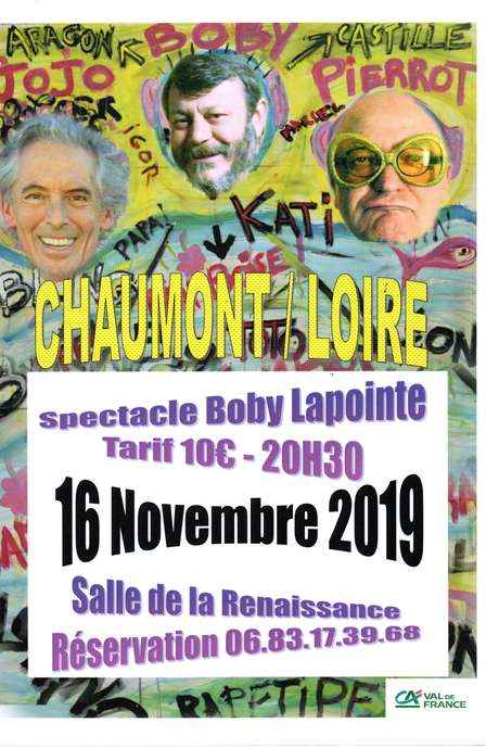 Spectacle Boby Lapointe