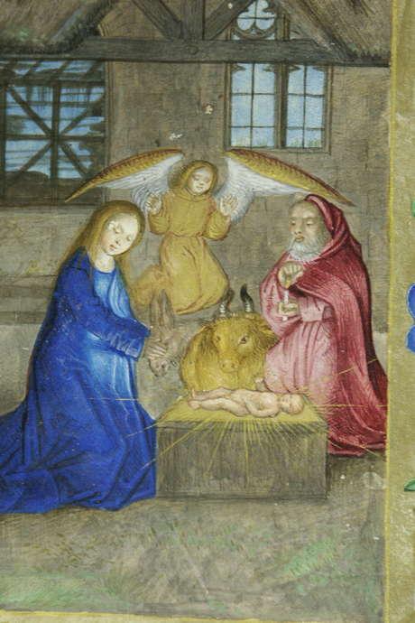 """Visite guidée: La """"Séquence de Noël"""" dans les oeuvres d'art de la collégiale Sainte-Waudru"""