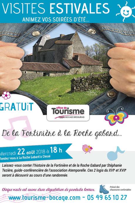 Visites estivales 2018 - De la Fortinière à la Roche Gabard