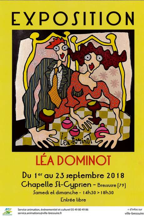 Exposition De Lea Dominot