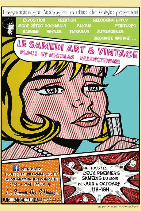 Samedis Art & Vintage