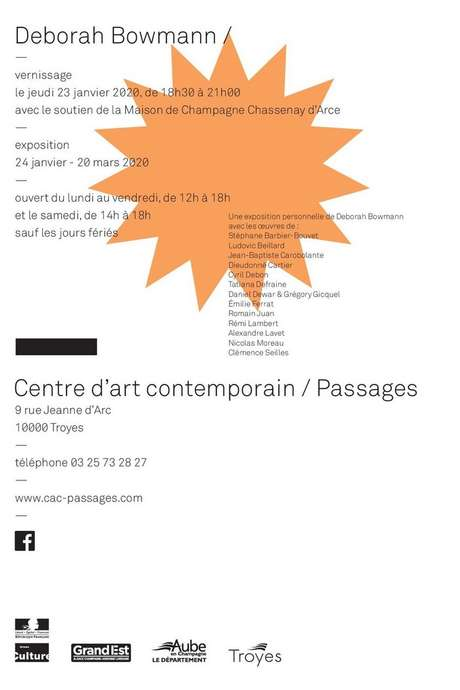 Exposition - Deborah Bowmann
