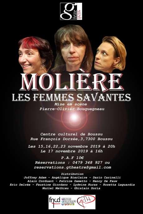 """""""Les femmes savantes"""" par le G Théâtre"""