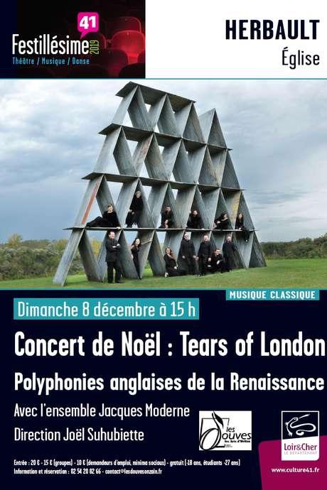 Concert de Noël : Tears of London