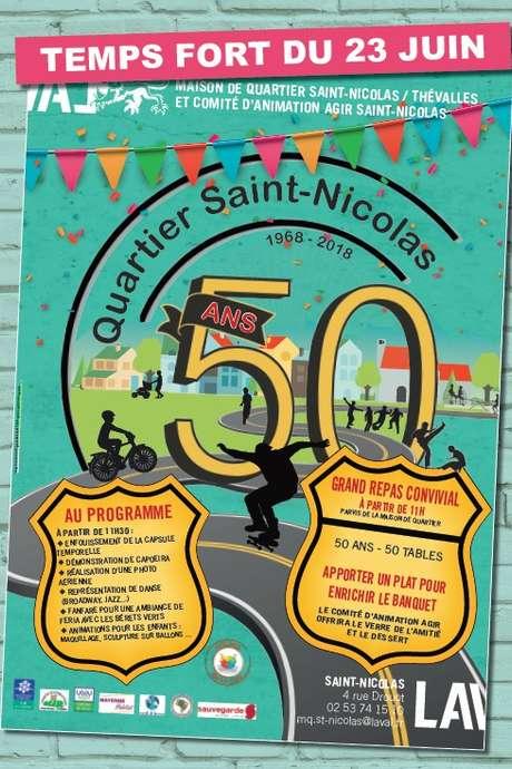 50 ans du Quartier de Saint-Nicolas