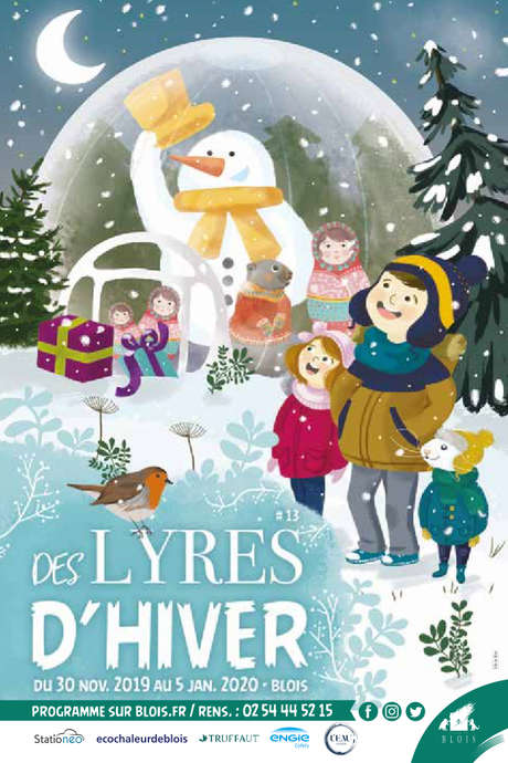 "Des lyres d'hiver à la patinoire : Spectacle ""Happy Christmas"""