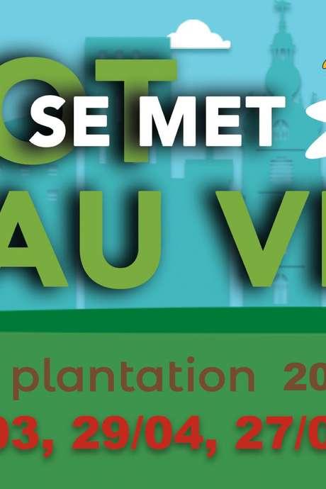 Festival de Printemps - Atelier îlot se met au vert