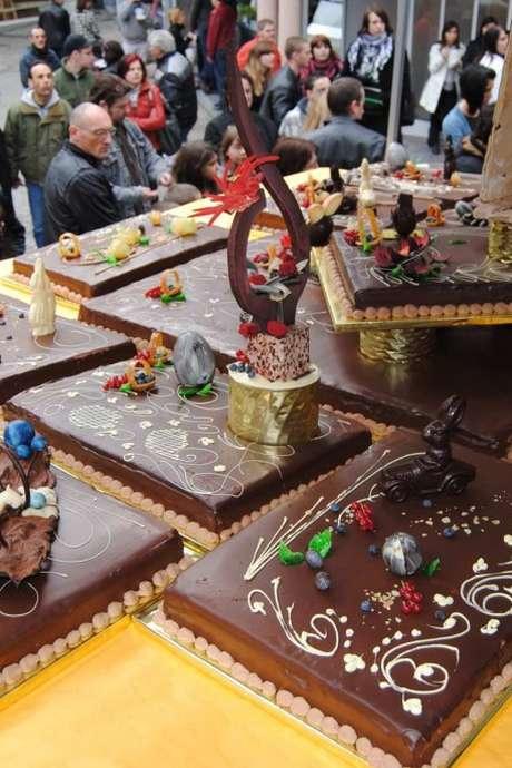 La Fête du chocolat à Mons