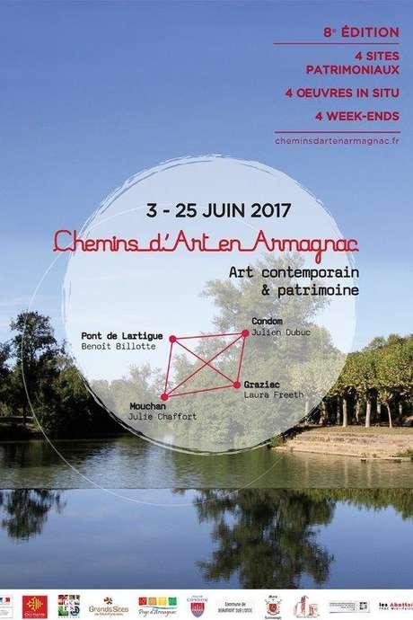 CHEMINS D'ART EN ARMAGNAC 2017 A L'ÉGLISE DE MOUCHAN