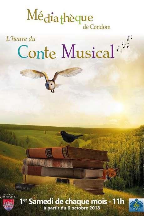 ANNULÉ : CONTE MUSICAL A LA MÉDIATHÈQUE DE CONDOM