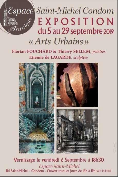 """ARTS ET RENCONTRES: EXPOSITION """"ARTS URBAINS"""" PEINTURES ET SCULPTURES À L'ESPACE SAINT MICHEL"""