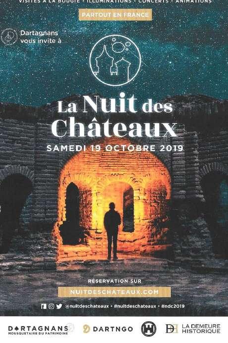 LA NUIT DES CHÂTEAUX AU CHATEAU DU FRECHOU