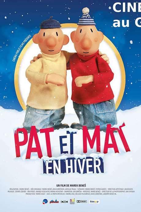 """CINÉ-GOÛTER """"PAT ET MAT"""" AU CINÉMA LE GASCOGNE"""