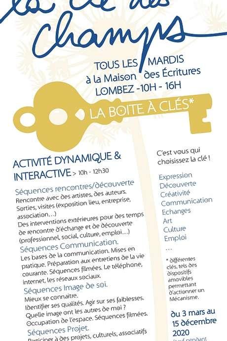 LA CLÉ DES CHAMPS : ATELIER DE CULTURE ET D'EXPRESSION /REPORTÉ/