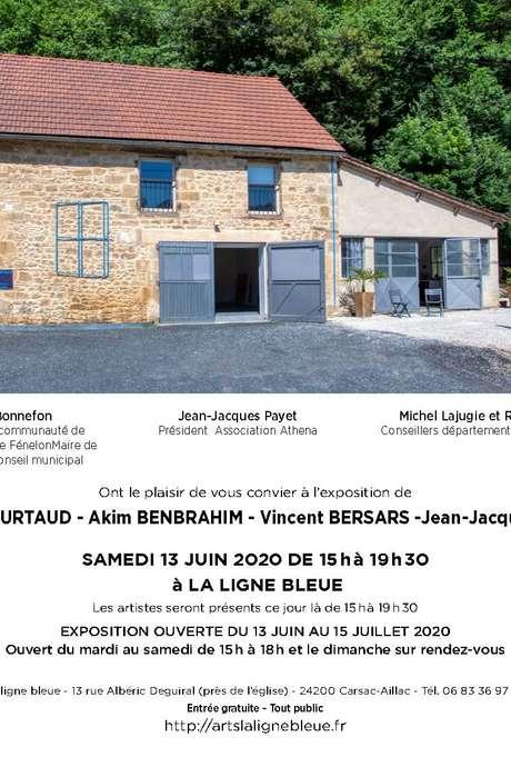 Exposition à la Ligne Bleue à Carsac-Aillac