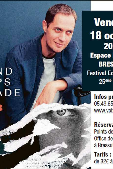 Billetterie spectacle : Grand Corps Malade