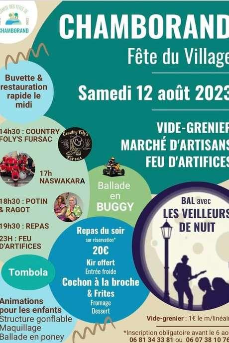 Comité des fêtes de Saint Pardoux : fête du village
