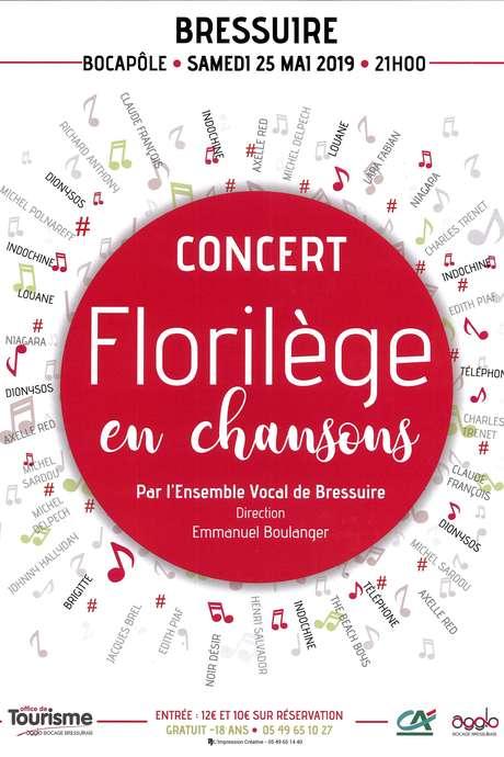 Billetterie spectacle : Florilèges en chansons