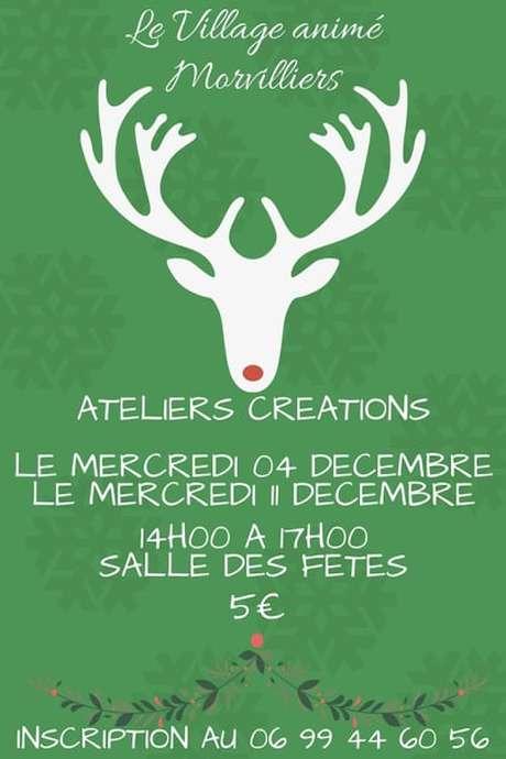 Ateliers Créations de Noël - Morvilliers