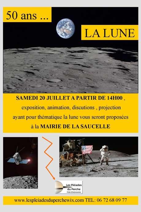 50 ans....la lune