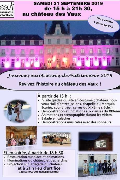 JOURNEE EUROPEENNES DU PATRIMOINE - Château des Vaux