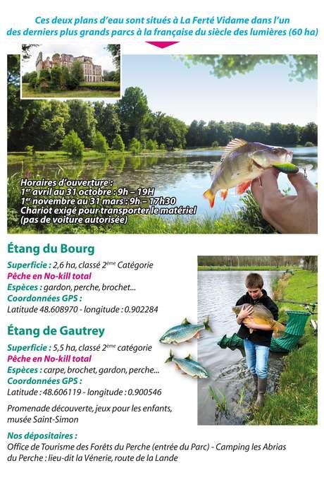 Ouverture pêche - Plans d'eau de La Ferté Vidame
