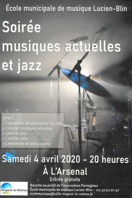 Soirée musiques actuelles et jazz