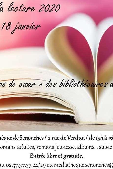 """Nuit de la lecture 2020 """"Coups de coeur"""""""