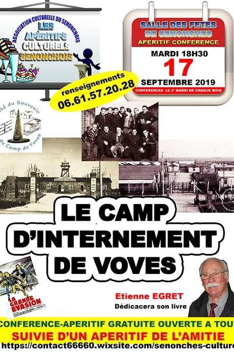 Apéritif-conférence / Le camp d'internement de Voves