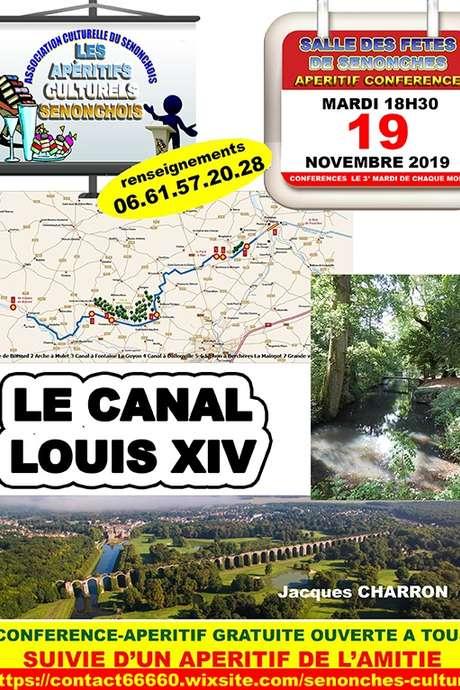 Conférence  -Apéritif / Le canal Louis XIV
