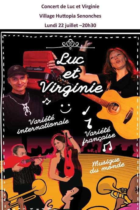 Concert avec Luc et Virginie - Village Huttopia