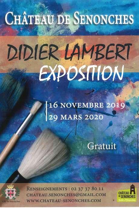 FERMETURE  - Didier Lambert - Exposition de peinture