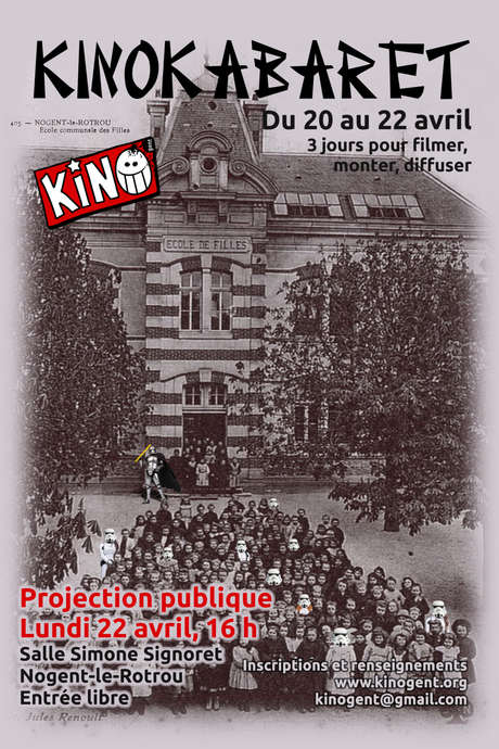 Projection publique Kino Kabaret