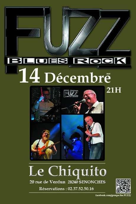 Concert Blues Rock avec le groupe FUZZ