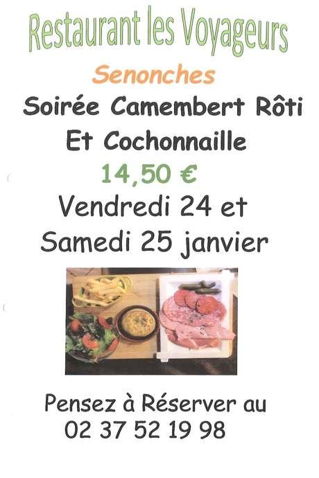 """Soirée """"Camembert Rôti et Cochonnaille"""""""