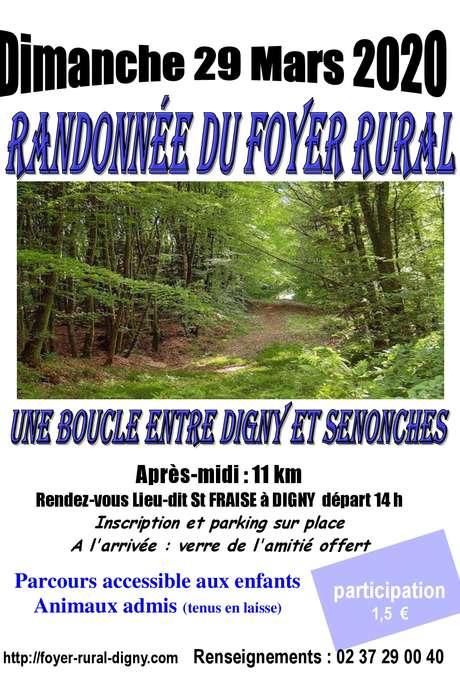 ANNULATION - Randonnée du Foyer Rural de Digny