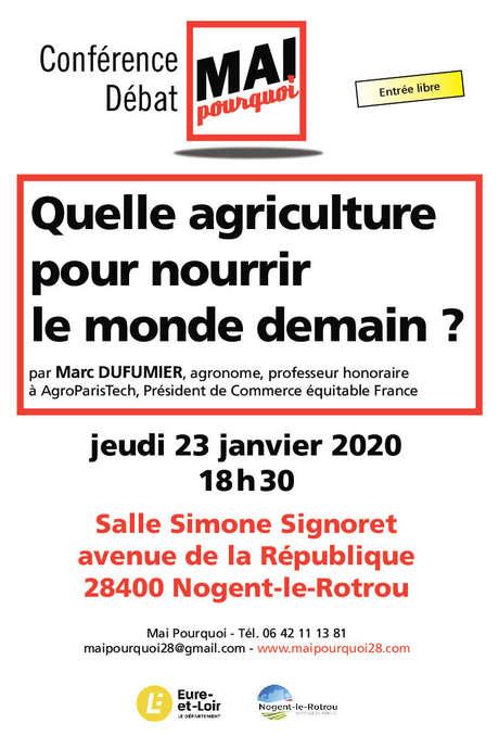 Mai pourquoi : Quelle agriculture pour nourir le monde demain ?